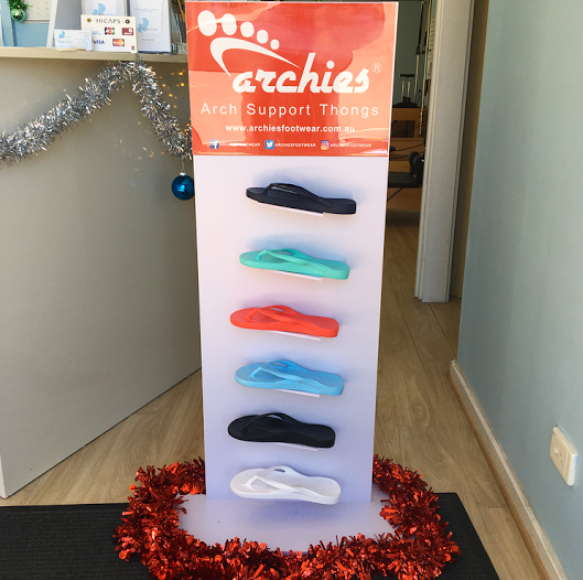 New! Archies Arch Support Thongs at Beachbox
