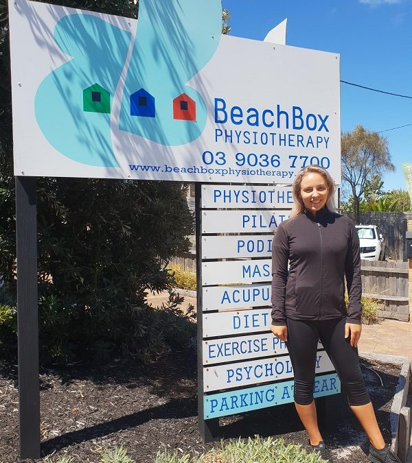 Beachbox Physiotherapy would like to welcome Grace Corcoran!