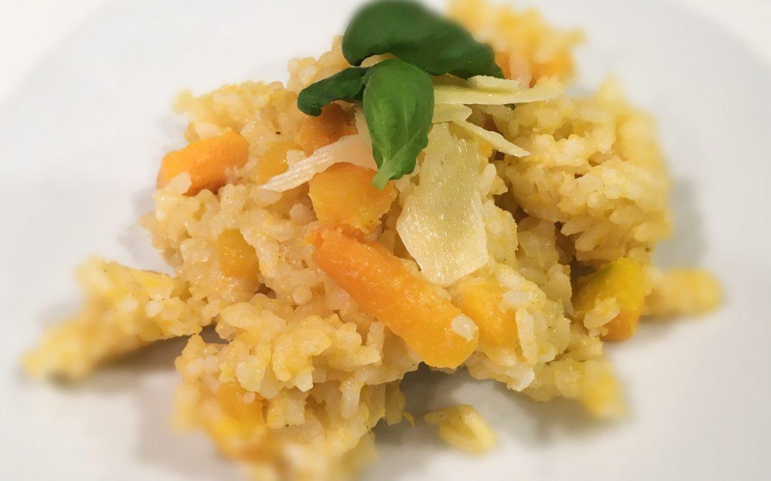Pumpkin and Parmesan Risotto