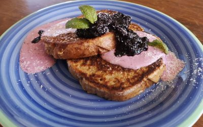 Blueberry Compote French Toast